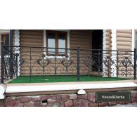 Купить кованные перила недорого, перила для балконов в Москве, изготовление металлических перил, производство перил для дома и дачи. House&Dacha,