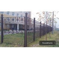 Стоимость секционного забора, купить секционный забор в Раменском, секционный забор от производителя, www.domaning.ru, установка секционного забора, House&Dacha