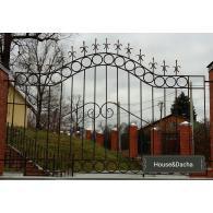 Заказать секционный забор, где купить секционный забор, секционный забор от производителя, www.domaning.ru, секционный забор недорого, купить секционный забор в Раменском районе, House&Dacha, установка секционного забора.