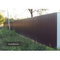 Заказать красивый забор, забор качественно с установкой, www.domaning.ru, забор от производителя, забор недорого в Раменском районе, House&Dacha, где заказать забор из профлиста