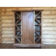 Купить винный шкаф для бара, Винный шкаф заказать, винный шкаф из дерева цена,