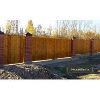 Забор из дерева, забор недорого, забор в Раменском районе, забор от производителя, www.domaning.ru, изготовление заборов, House&Dacha,