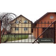 Заказать кованый забор недорого, купить кованый забор в Бронницах, кованый забор недорого в Раменском районе, www.domaning.ru, кованый забор по моему проекту, House&Dacha, установка кованого забора