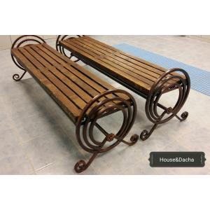 Скамейка из металла, купить скамейку из металла, купить красивую скамейку из металла, недорогая скамейка, www.domaning.ru, скамейка от производителя, скамейки из металла недорого, House&Dacha