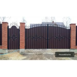 Элементы художественной ковки для ворот, www/domaning.ru, ворота в Раменском районе недорого, Ворота от произволителя недорого, House&Dacha,