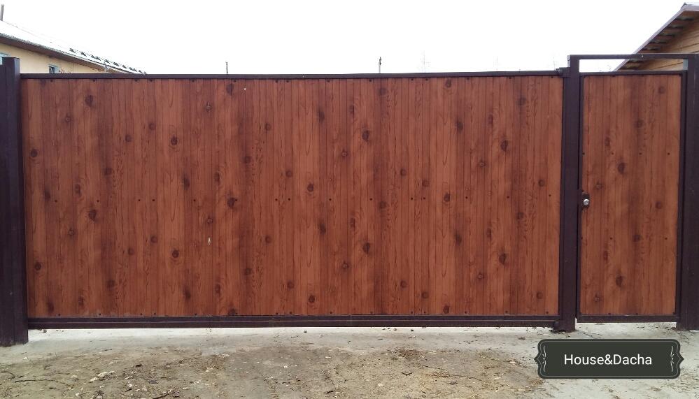 Откатные ворота для дачи акция калитка и ворота дачные