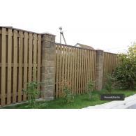 Забор из дерева недорого, деревянный забор недорого, забор в Раменском районе недорого, www.domaning.ru, установка забора под ключ, House&Dacha, забор от производителя, забор без посредников