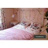 кованая кровать для спальни недорого, заказать кровать из металла в Москве, купить кованную кровать на производстве, House&Dacha, кованая кровать с Московской кузницы, кровать по Вашим размерам,
