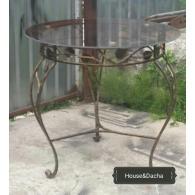 Купить кухонный стол недорого, кованый стол для кухни, House&Dacha, стол кухонный под заказ недорого купить в Москве,