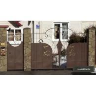 Купить ворота из металла, купить ворота недорого, ворота под ключ, ворота с установкой, www.domaning.ru, купить ворота в Бронницах, ворота недорого в Раменском районе, House&Dacha, ворота под ключ, установка ворот в Раменском районе, изготовление ворот