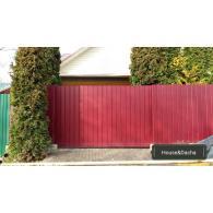 где купить откатные ворота, заказать откатные ворота с установкой, ворота с установкой, ворота от производителя, www.domaning.ru, заказать изготовление ворот, откатные ворота в Раменском районе, House&Dacha,