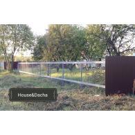 забор из сетки рабицы, забор под ключ, domаning.ru, забор из сетки рабицы, забор из сетки рабицы в Раменском районе